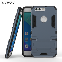 For Cover Huawei Honor 8 Case Robot Hard Rubber Phone Coque XYWZV