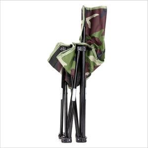 Image 4 - Silla para pesca al aire libre plegable ultraligera de Camping senderismo, de camuflaje, portátil, de ocio, Picnic, playa, silla plegable, asiento, taburete