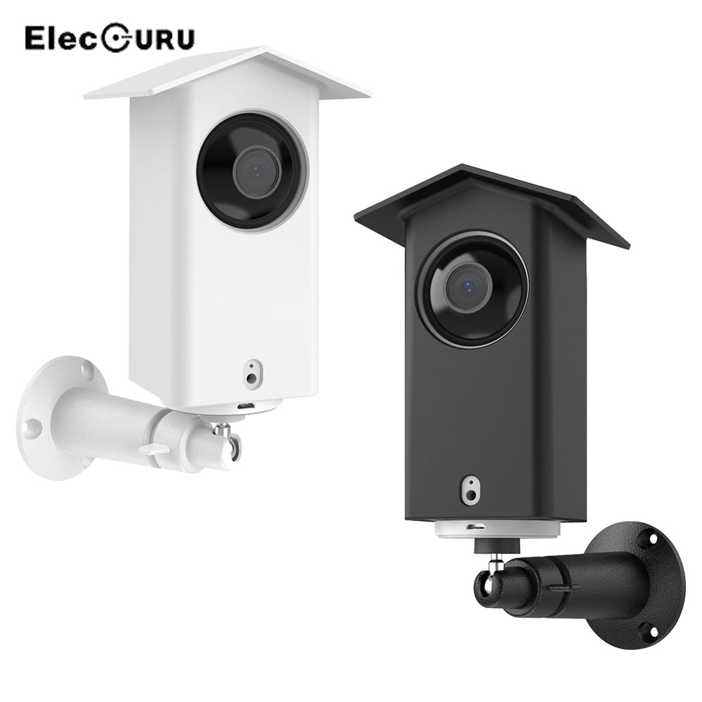 Wall Mount Holder for Wyze Cam Pan/Xiaomi Dafang Mijia Camera Outdoor 360 Degree Swivel Mounting Bracket with Protective Case(China)
