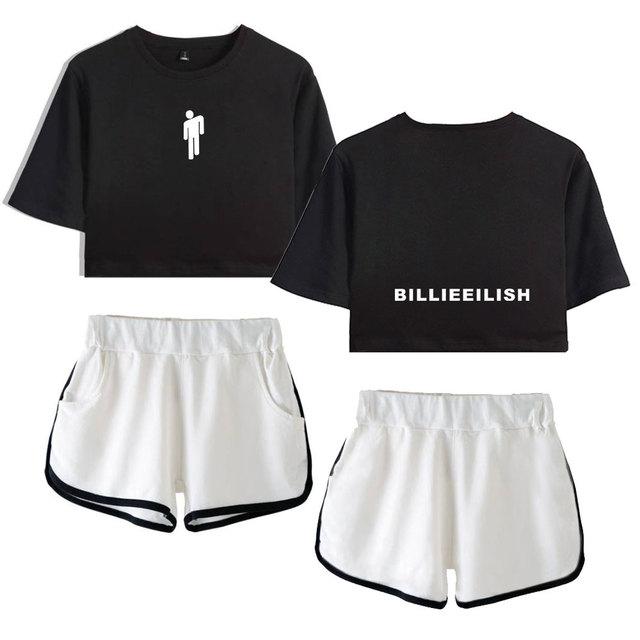 SET BILLIE EILISH SHORT + T-SHIRT (24 VARIAN)