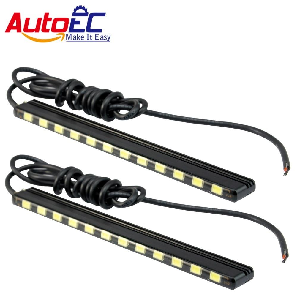 AutoEC Led Daytime Running Light DRL 15 18 21 24 smd 5630 leds daylight light led