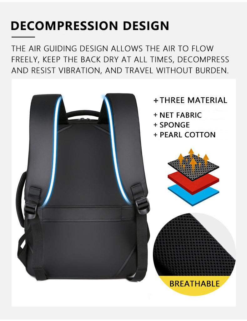 HTB1qA6sNZfpK1RjSZFOq6y6nFXar - 2019 Mens USB Charging Backpack 14 - 15.6 inch Laptop Bags