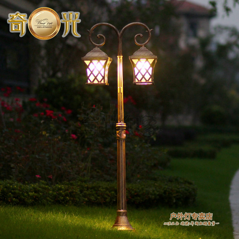 Outdoor Landscape Lighting Garden Post : Popular outdoor lamp post lights buy cheap