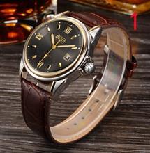 Tourbillon автоматические механические часы мужские часы сталь водонепроницаемый кожаный ремень полые светящиеся квадратные повседневные мужские часы
