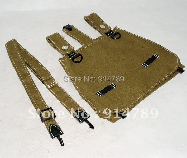 WW2 GERMAN ARMY BREAD BAG SHOULDER STRAP - საკარნავალო კოსტიუმები