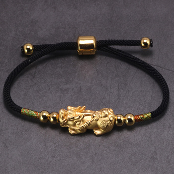 Bracelet Bouddhiste Dore