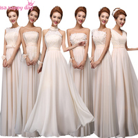 Long Formal V Neck A Line Lace Fitted Peplum Dress Champagne Coloured Prom Dresses Cheap Prom
