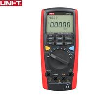 UNI-T UT71C Intelligent Digital MultiMeters True RMS Max Display 39999 Volt Amp Ohm Capacitance Temp Tester USB Data Transfer
