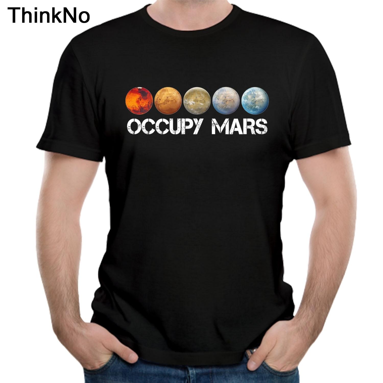 Raum X T hemd Ouccpy Mars Tees Elon Moschus T shirt Top design Beliebte Nizza Kurz-ärmeln Tesla