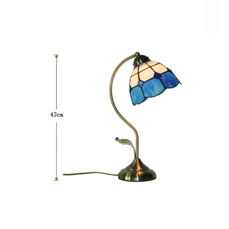 Chevet Lumières Blanc Bureau Lampes Table Bleu De Tl164 Chambre Européenne Creative Petite Et Minimaliste Lampe Méditerranéen Luminaires b7gyv6YfI