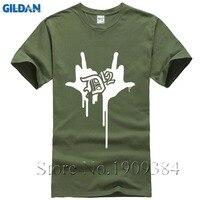 D12 Logo T Shirt Classic Hip Hop Tee Rap T Shirt Vintage Style New Cotton Short