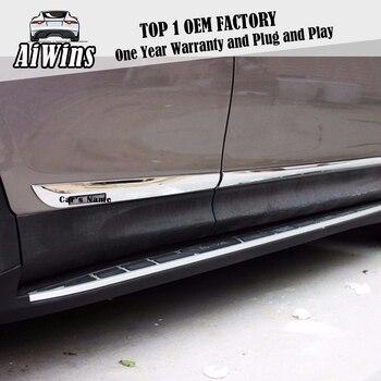 Aiwins PARA 2014 2015 2016 Toyota RAV4 ABS CHROME SIDE DOOR CORPO LINHA DECORE MOULDING PROTEÇÃO TAMPA DO CARRO STYLING