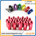 RASTP - 20pcs/pack BLOX Auto Racing Aluminum 7075 Wheel Lug Nuts L= 50mm M12x1.5 /1.25  LS-LN012