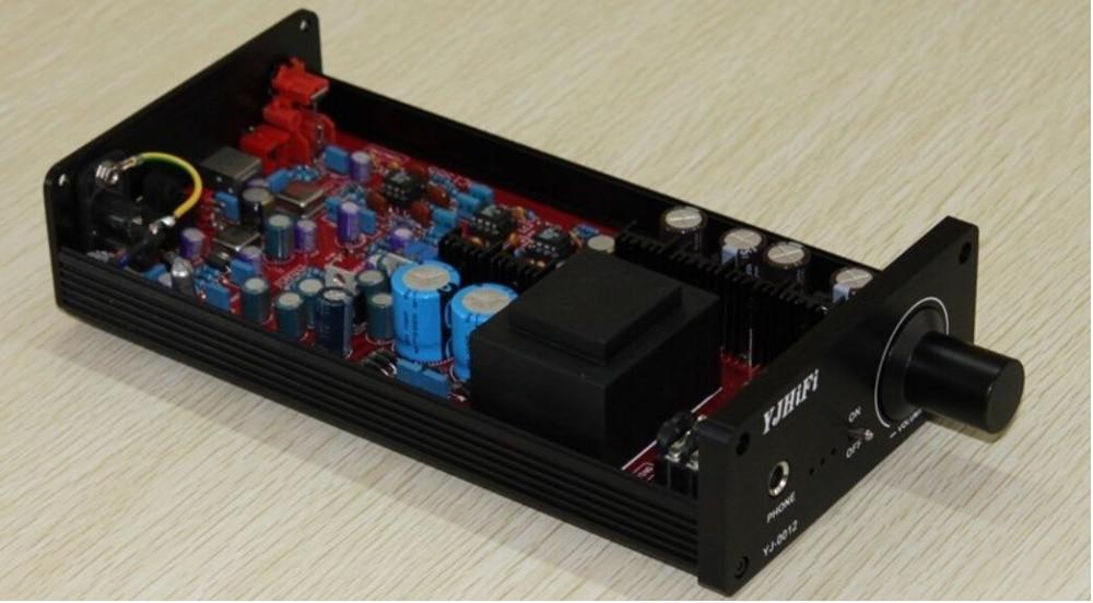 YJ0012- оптический коаксиальный USB усилитель DAC