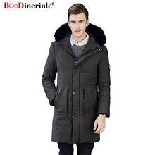 6f4bb94f671 Plus Size 4XL Men s Winter Jacket Handsome Thickening White Duck Down Coat  Slim Men Slim Warm