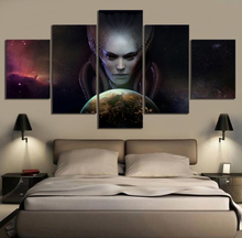 5 Piece HD Pictures Phoenix Point Game Poster Art Canvas Paintings for Home Decor Wall