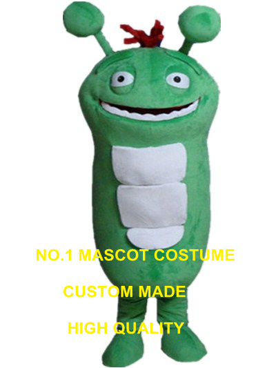 green warm mascot costume insect custom cartoon character cosplay adult size carnival costume <font><b>3082</b></font> image