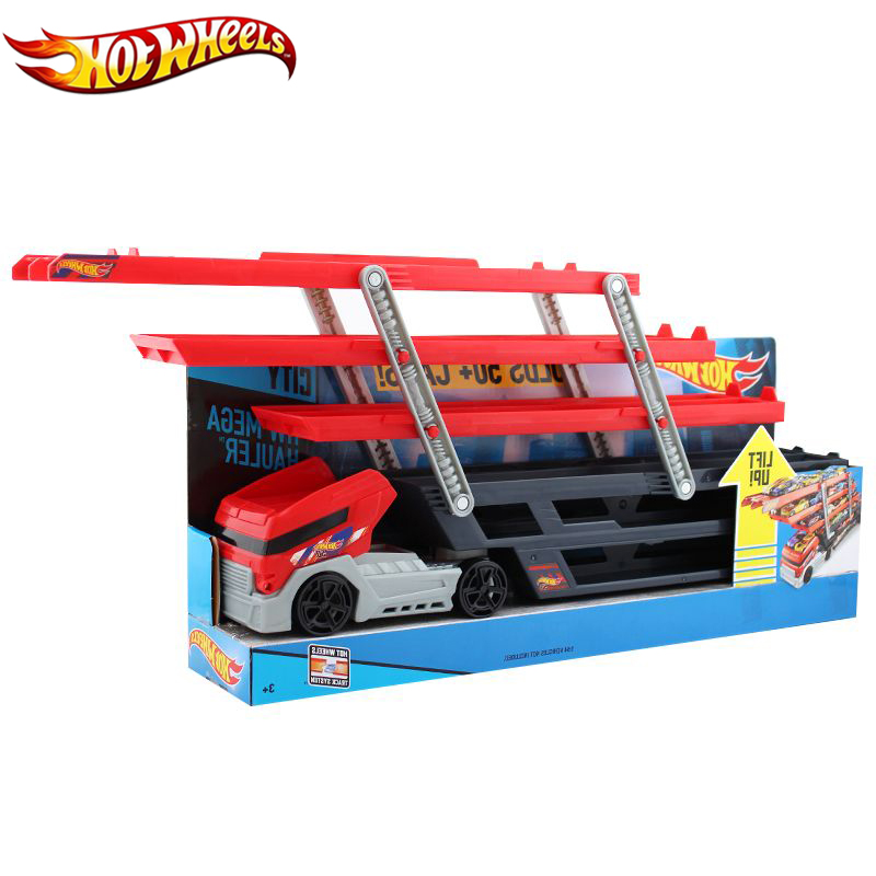 Hotwheels Truck Toy Storage Box Car Container Scalable Parking Floor