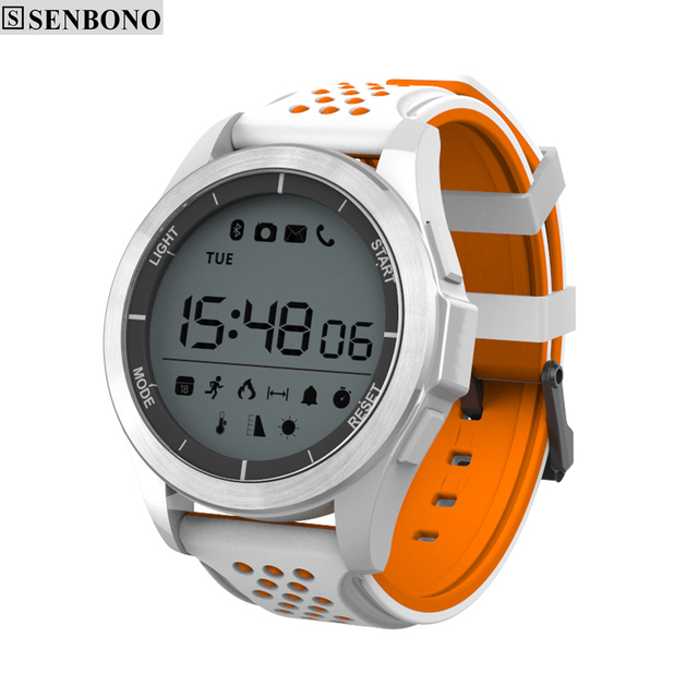 SENBONO F3 Luminous Smart Watch Altitude Meter Thermometer Pedometer