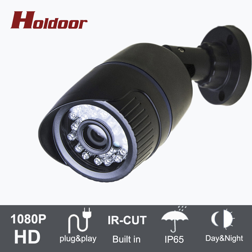 1920 x 1080P 2MP 24LED IR IP65 Waterproof Bullet IP Camera  CCTV Camera ONVIF Night Vision P2P IP Security Cam with IR-Cut bullet camera tube camera headset holder with varied size in diameter