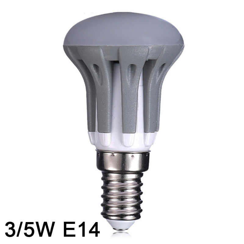 Светодиодный потолочный светильник E14 Светодиодная лампа 3 W 5 W 7 E27 SMD2835 лампада светодиодный rgb led лампочки 220 V 240 V лампа Bombillas с регулируемой яркостью освещения светодиодный освещения теплый белый/белый R39 R50 R63