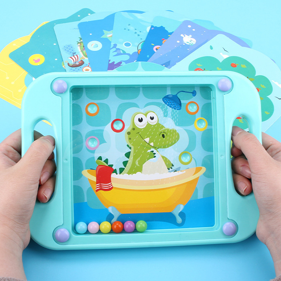 3D maze Game Toy for Children Kids Balance Balls board game Montessori  Educational Toy Hand-eye coordination training toys