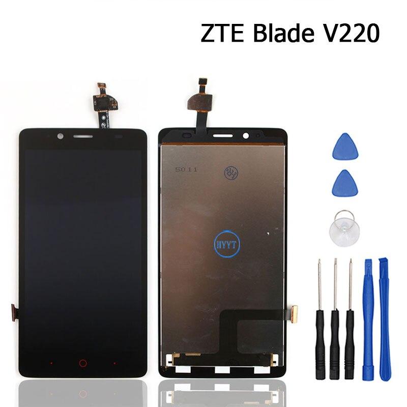 imágenes para Para ZTE Blade V220 LCD Pantalla y Pantalla Táctil Original Digitalizador Asamblea + Herramientas Para ZTE Blade Móvil V220 accesorios
