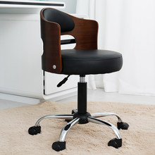 Bar table chair lift swivel chair back nail chair computer chair home fashion creative beauty stool(China)