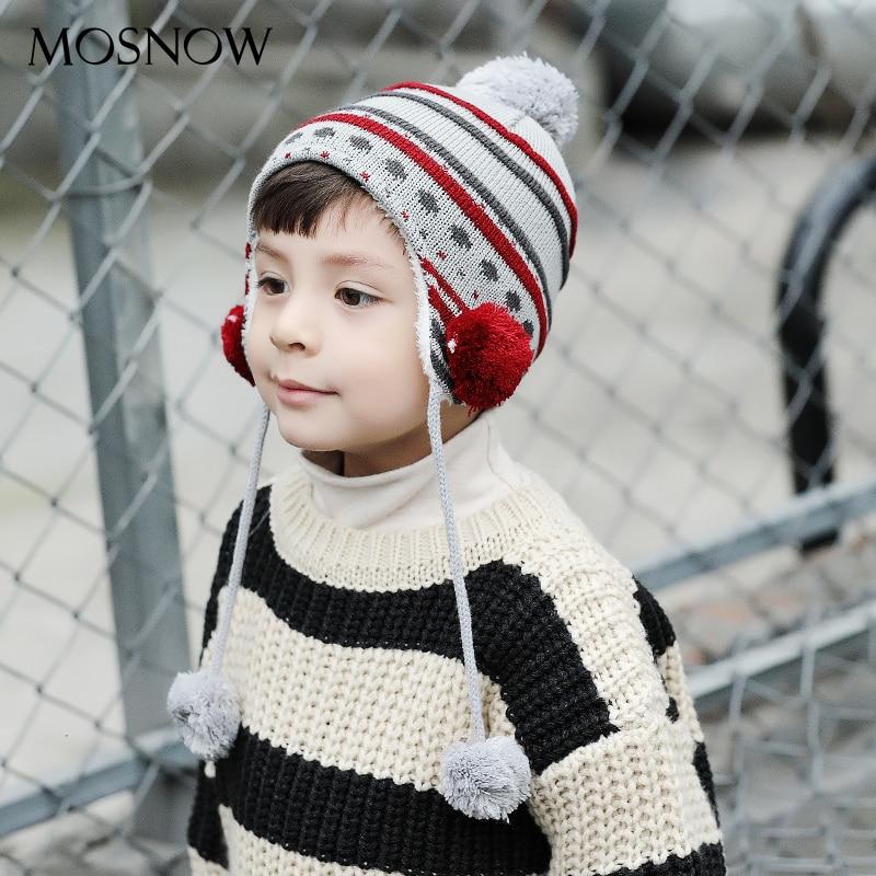 Boy Cap Bonnet Beanie Skullies 5-Pom-Poms Girl Children Fashion Cotton Brand-New -Mz873