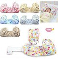 Free Shipping Baby Toddler Safe Cotton pillows Anti Roll Sleep Baby Pillow Positioner Anti-rollove newborn baby shaping pillows