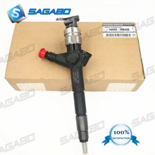 4pcs 095000-6240 16600-VM00A BRAND NEW GENUINE DIESEL INJECTORS for NISSAN YD25 NAVARA PATHFINDER D22 цена