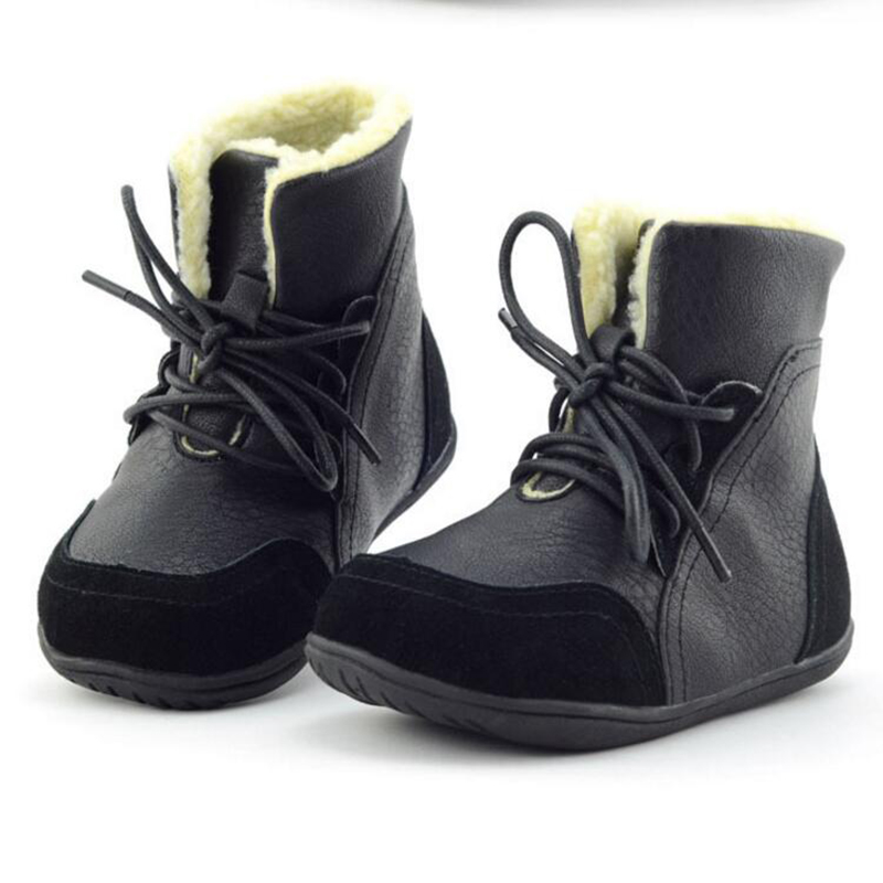 Childrens-leather-boots-girls-snow-boots-Tree-Wrasse-2017-new-fashion-winter-childrens-shoes-non-slip-warm-cotton-boots-1