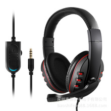3.5mm Bass Stereo PS4 headphones Bestsonic 7260 Headset With Mic for XBOX ONE PC Video Game