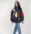 [TWOTWINSTYLE] 2016 de impresión de invierno chaqueta mujeres abajo abrigos parka nueva ropa de moda de manga larga femenina