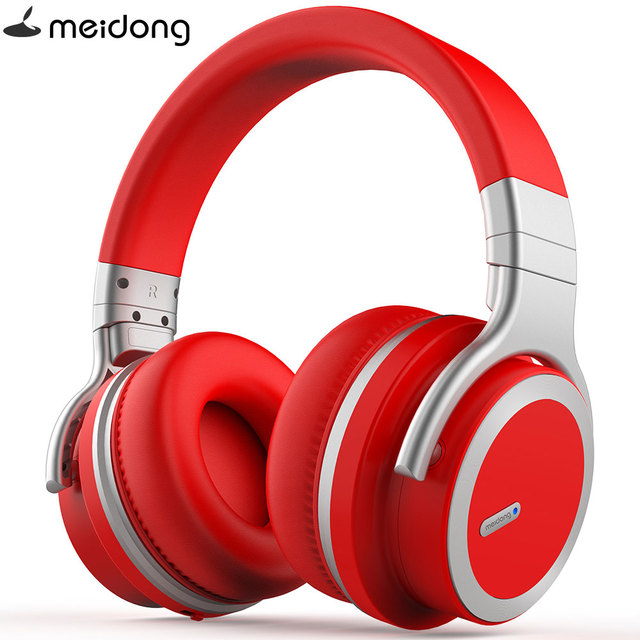 c88606e5652 NEW Meidong MDPRO-E7 WirelessHeadphones Bluetooth Active Noise Cancelling  Headphones with microphone for phone wireless