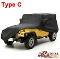 Высокое Качество Автомобиля Чехлы для Jeep Wrangler Carcover 2/4 Двери Водонепроницаемый УФ-Доказательство Камуфляж Серебро Черный Чехол для автомобили