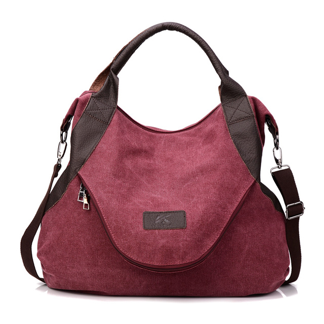 2016 Fashion Women Handbags Canvas Large Shoulder Bags Desinger Ladies Tote Bags For Shopping Travel Bags Bolsa Feminina N396