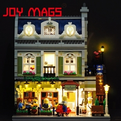 JOY MAGS Only Led Light Kit For Creator 10243 Parisian Restaurant Lighting Set Compatible With Lego Excluding Model