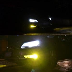 Image 4 - 2PCS Super Bright H3 หลอดไฟ LED หมอกสีเหลืองสีขาว 2000 Lumens 3000K 6500K LED COB AUTO ไฟ LED หมอกรถ 12V 24V