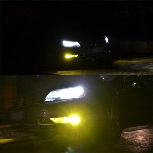 Image 4 - 2PCS Super Bright H3 LED Fog Light Bulb Yellow White 2000 Lumens 3000K 6500K LED COB Auto Car LED Fog Lamp Replacement 12V 24V