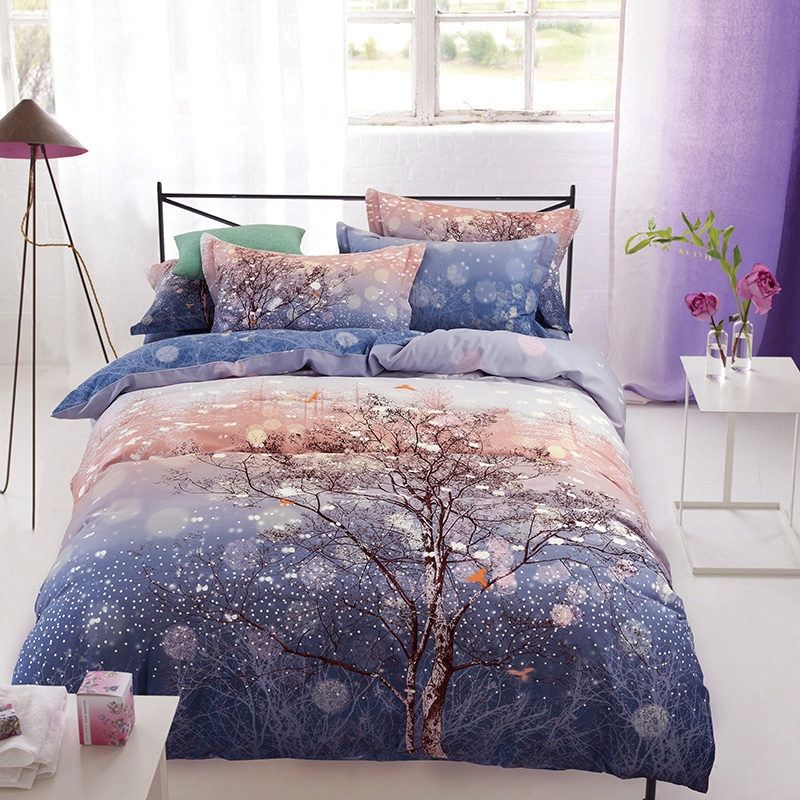 Aliexpress.com : Buy New Tree Bedding Set Duvet Cover Sets