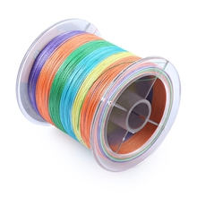 500M Fishing PE Line new brand 500M 0.10-0.45mm 6-80LB 4 Strands Super Strong coloful Braided Fishing Line for Sea Fishing