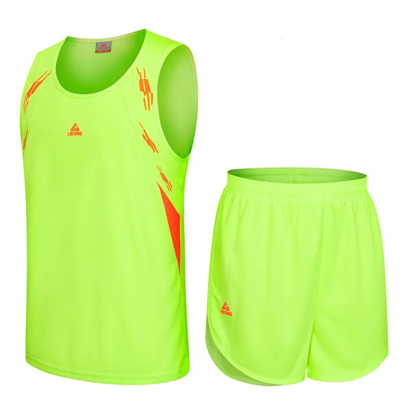 New Men Women Running Basketball Jerseys Set Couple Uniforms kits Sports cloth Breathable jersey Track suit Customized