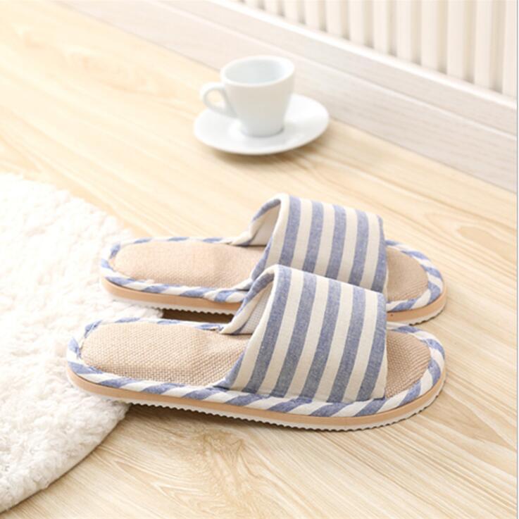 2019 Men Slippers NV293 294 Slippers Khaki Blue Cotton Slippers For Men Shoes High Quality Home