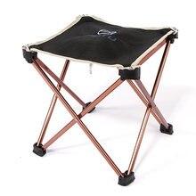 Практичное кресло для кемпинга складное рыболовное аксессуары