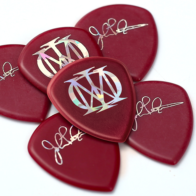 Купить с кэшбэком Original Dunlop John Petrucci Signature Guitar Picks 2.0MM Thickness Classic Mediator Acoustic Electric Guitar Bass Ukulele Pick