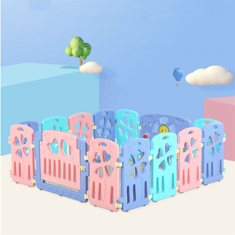 Baby Kids Playpen Security Gate for Children Safety Baby Fence Kids Toys Educationaln Environmental Plastic Playpen for Babies