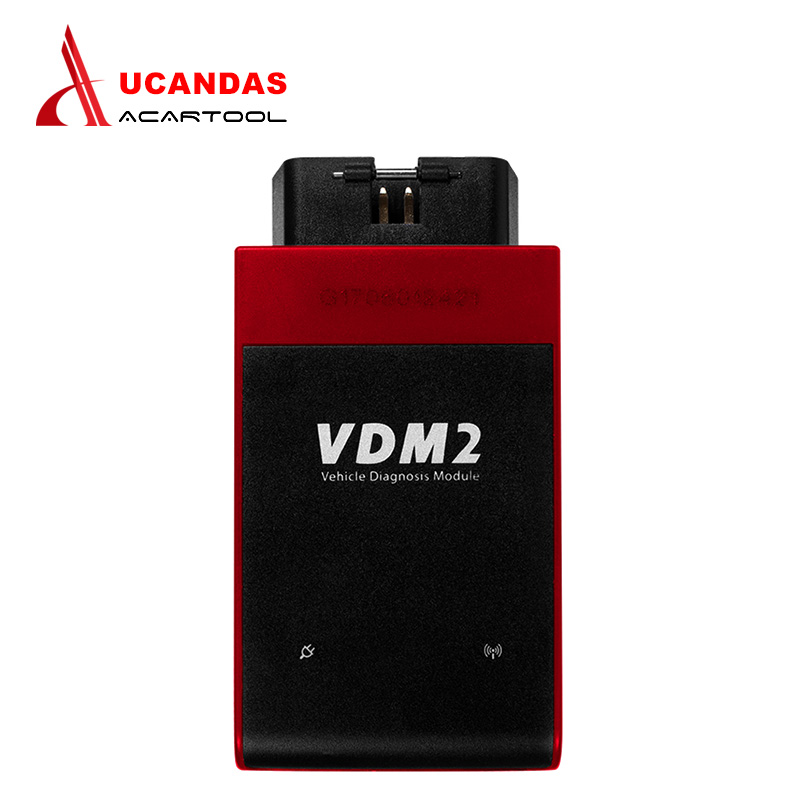 2017 New UCANDAS VDM II WIFI Automotive Scanner VDM2 V3.9 Support Multi-Language and Android System vdm ucandas wifi full system automotive diagnostic tool multi language newest version v3 73 include for h onda adapter