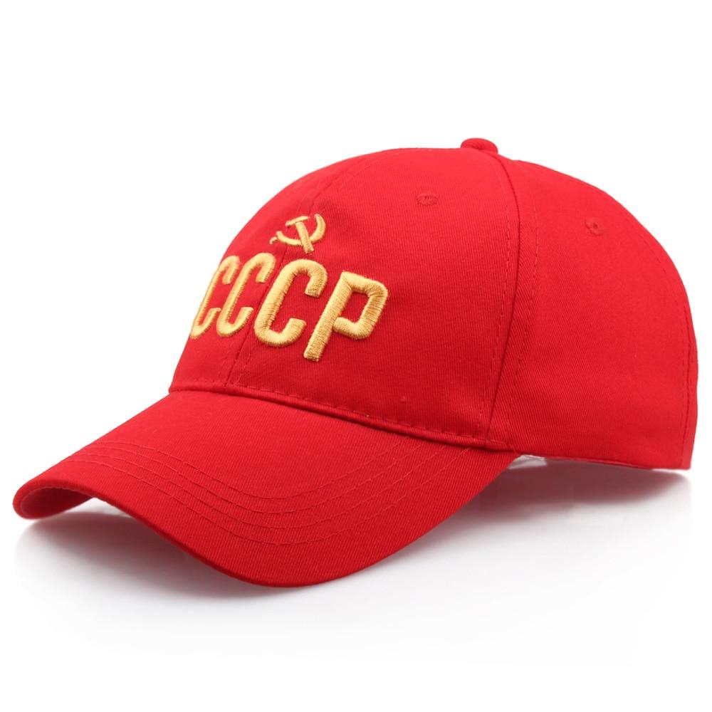 powerful CCCP USSR Russian Letter Snapback Cap 100% Cotton Baseball Cap For Adult Men Women Dad Hat Bone Garros|Men