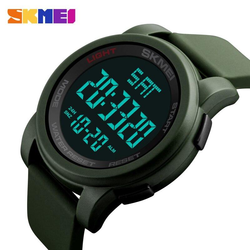 Marca SKMEI Relojes para hombres Reloj LED digital Reloj de pulsera - Relojes para hombres - foto 5